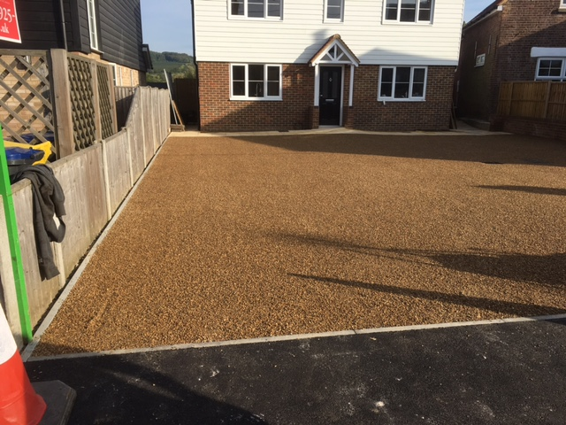 gravel-driveway-construction-tonbridge-kent