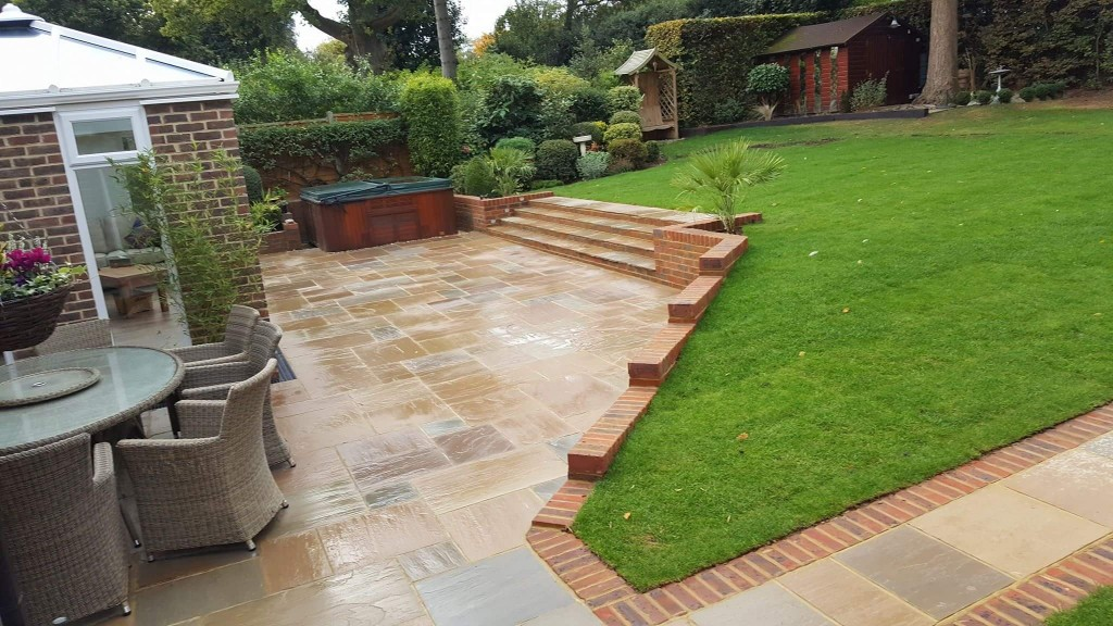 patio-and-new-lawn-in Maidstone