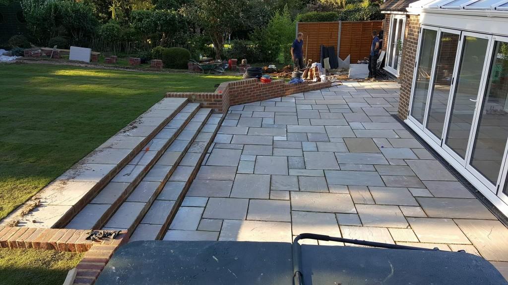 indian-sandstone-patio-construction-tonbridge-kent