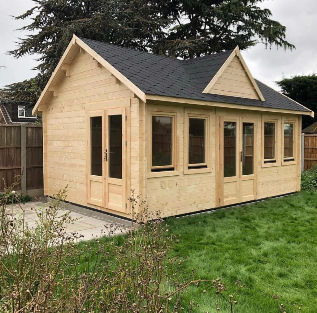 log cabin/ garden office installers