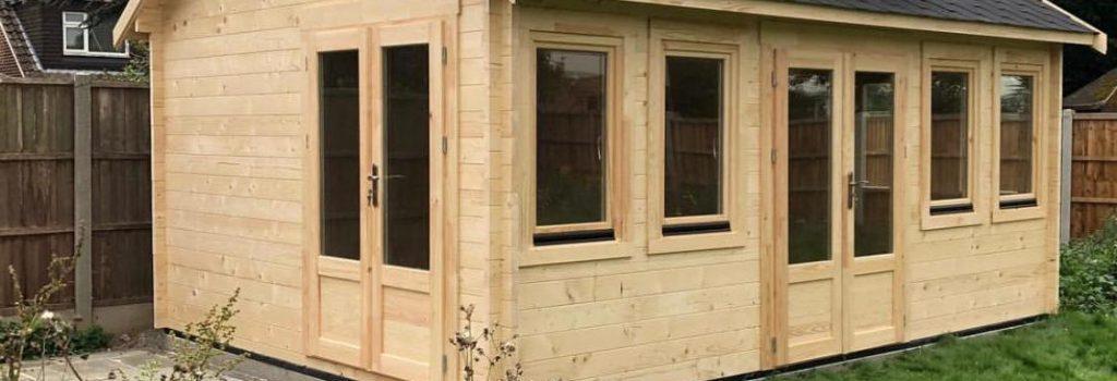 log cabin/ garden office installers
